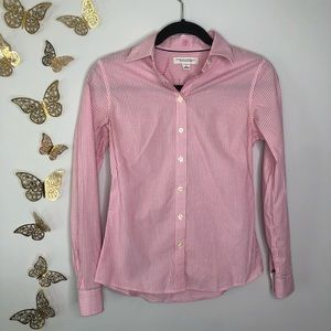 🦋🌙 BANANA REPUBLIC   Non-Iron Fitted Stretch Top
